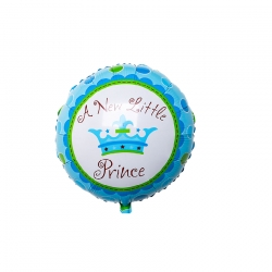 Baby Shower Princess Round (Blue)