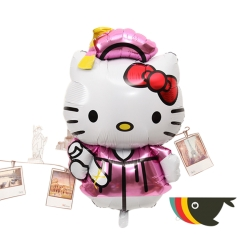 Hello Kitty Design 1 (Graduation) Helium