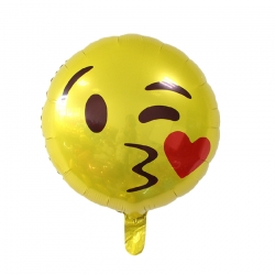 Emoji - Flying kiss Helium