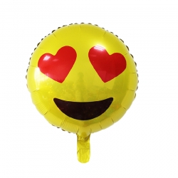Emoji - Smiley eyes Helium