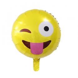 Emoji - Wink tongue Helium