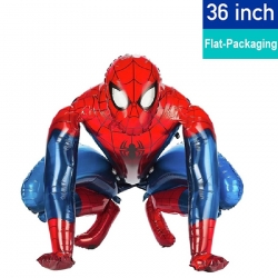 36'' Spiderman Airwalker Foil Balloon (Air-Filled)