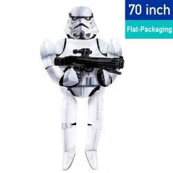 70'' Stormtrooper Airwalker Foil Balloon (Air-Filled)