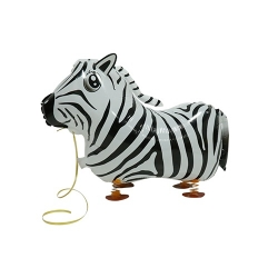 Zebra Pet Walker Balloon