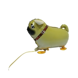 Pug Dog Pet Walker Balloon