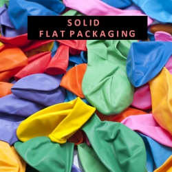 "(Bundle of 80) 12"" Round Solid Colours Latex Balloon"