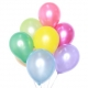 """12"""" Round Pearlised Colours Latex Balloon"""