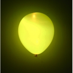 9'' LED Round Latex Balloon