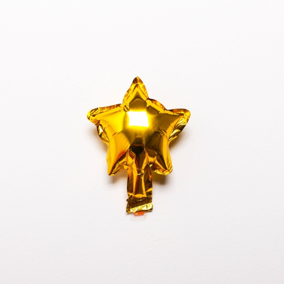 "5"" Star foil balloon"