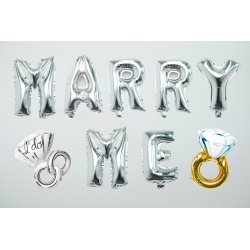 Proposal Kit 40 Inch Marry Me with Ring