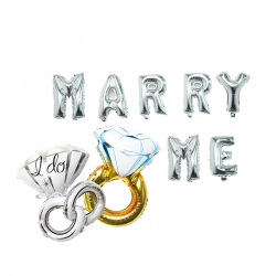 Intimate Proposal Kit 16 Inch Marry Me with Ring