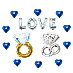 Nothing but Love with Rings and Hearts