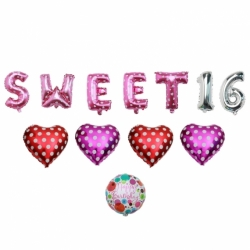 Happy Sweet 16 with Heart